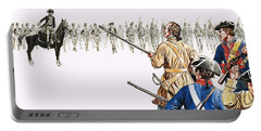 Seventy American Colonists Faced A Thousand British Regulars Portable Battery Charger