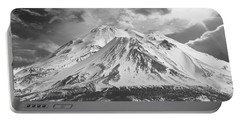 Portable Battery Charger featuring the photograph Shasta by Athala Carole Bruckner