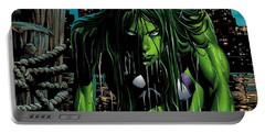 She-hulk Portable Battery Charger
