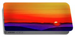 Shenandoah Valley Sunset Portable Battery Charger