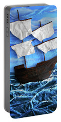 Ship Portable Battery Charger by Angela Stout