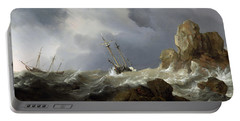 Ships In A Gale Portable Battery Charger