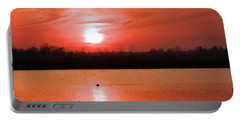 Silky Sunset Portable Battery Charger