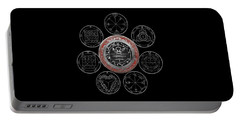 Holy Symbol Portable Battery Chargers