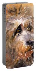 Sir Darby Portable Battery Charger by Judith Levins