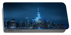 Skyline At Night Portable Battery Charger