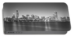 Skyscrapers At The Waterfront, Hancock Portable Battery Charger by Panoramic Images