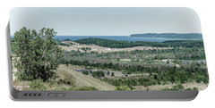 Portable Battery Charger featuring the photograph Sleeping Bear Dunes National Lakeshore by Alexey Stiop