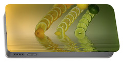Portable Battery Charger featuring the photograph Slices  Grapefruit Lemon Lime Citrus Fruit by David French