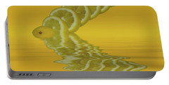 Portable Battery Charger featuring the photograph Slices Lemon Citrus Fruit by David French