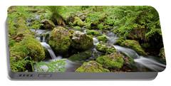 Small Creek On Velhopolku Trail Portable Battery Charger