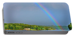 Smith Mountain Lake Rainbow Portable Battery Charger