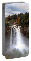 Portable Battery Charger featuring the photograph Snoqualmie Falls by Chris Anderson