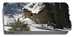 Snow Cabin Portable Battery Charger