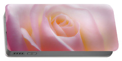 Soft Nostalgic Rose Portable Battery Charger