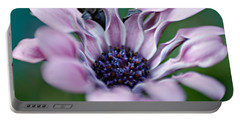 Portable Battery Charger featuring the photograph Soft Purple by Michaela Preston