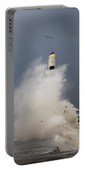 South Breakwater In The Storm Portable Battery Charger
