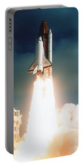 Space Shuttle Launch Portable Battery Charger by NASA Science Source