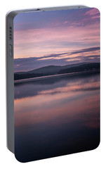 Portable Battery Charger featuring the photograph Spofford Lake Sunrise by Tom Singleton