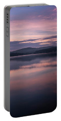 Spofford Lake Sunrise Portable Battery Charger by Tom Singleton