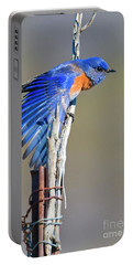 Spread The Wings Portable Battery Charger by Mike Dawson