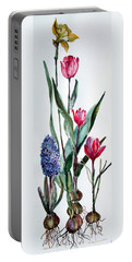 Spring Bulbs Portable Battery Charger
