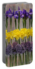 Spring Delights Portable Battery Charger by Nina Silver