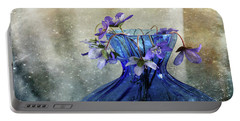 Spring Greeting Portable Battery Charger