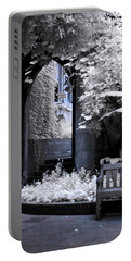 Portable Battery Charger featuring the photograph St Dunstan's In The East by Helga Novelli