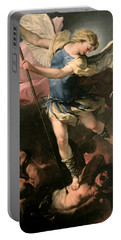 St. Michael Portable Battery Charger