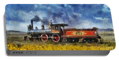 Steam Locomotive Portable Battery Charger by Ian Mitchell