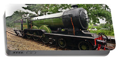 Steam Locomotive In England Portable Battery Charger