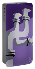 Steam Pipes Portable Battery Charger