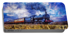 Steam Train Portable Battery Charger by Ian Mitchell
