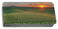 Steptoe Butte Sunset Portable Battery Charger