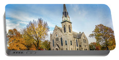 Stone Chapel Fall Portable Battery Charger