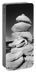 Stone Tower On Halki Island Portable Battery Charger