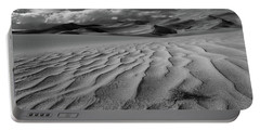 Storm Over Sand Dunes Portable Battery Charger