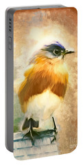 Strapping Bluebird Portable Battery Charger by Tina LeCour