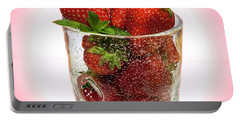 Strawberry Dessert Portable Battery Charger
