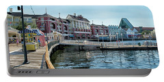 Strolling On The Boardwalk At Disney World Mp Portable Battery Charger