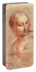 Study For Madonna With The Yarnwinder Portable Battery Charger
