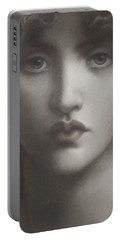 Study Of Jane Morris Portable Battery Charger