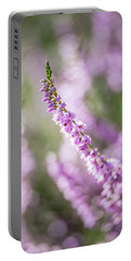 Summer Breezes Through The Heather Portable Battery Charger