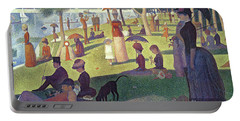 Sunday Afternoon On The Island Of La Grande Jatte Portable Battery Charger