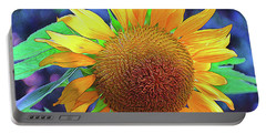 Portable Battery Charger featuring the photograph Sunflower by Allen Beatty