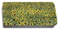 Sunflowers Mattituck New York Portable Battery Charger