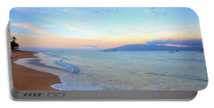 Sunrise On Kaanapali Portable Battery Charger