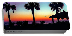 Sunrise On Ormond Beach Portable Battery Charger