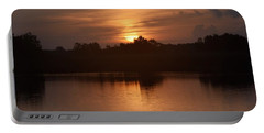 Sunrise On The Bayou Portable Battery Charger